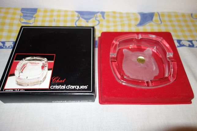 Cinzeiro Cristal D'Arques