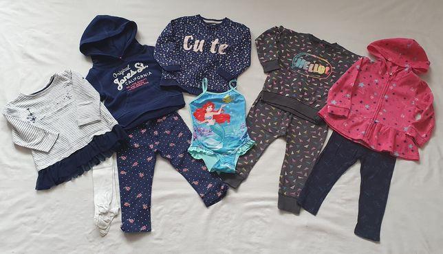 Zestaw ubrań 92 spodnie bluza PEPCO H&M super