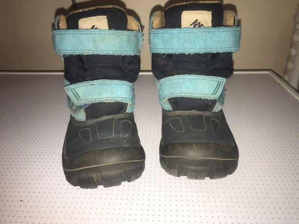 Ботинки, термо сапоги сапожки теплые детские, зима, зимние