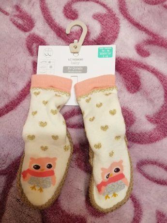 Детские носки - чешки на девочку