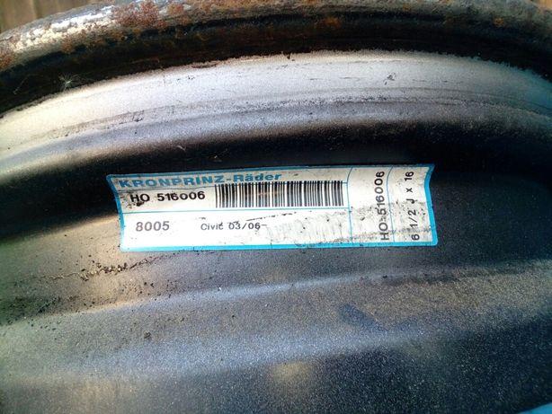 """Felgi stalowe Honda Civic 5x114.3 16"""""""