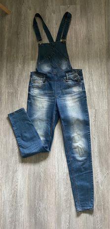 Spodnie damskie ogrodniczki jeans 36 Reserved