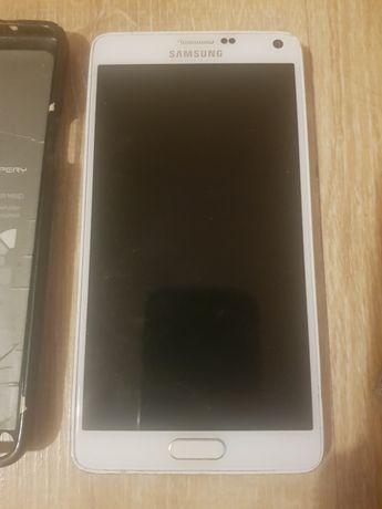 Samsung Galaxy note 4 z rysikiem