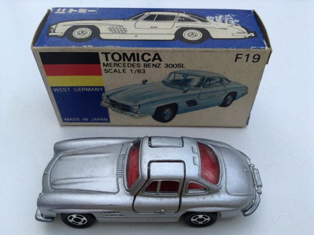 TOMICA Mercedes Benz 300 SL - 1: 63 - carro com caixa made in Japan