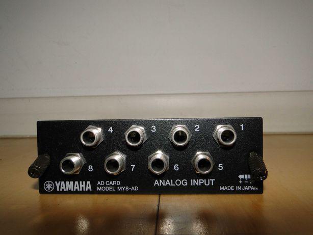Karta Interfejs Rozszerzenie YAMAHA MY8-AD Do Mixerów Cyfrowych