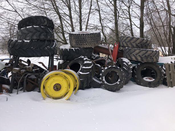 Opony do traktora i przyczep