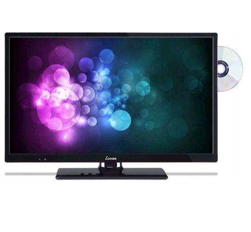 """Telewizor 24"""" LUXOR LED24HB/DVD DVB-T2/C 12V"""