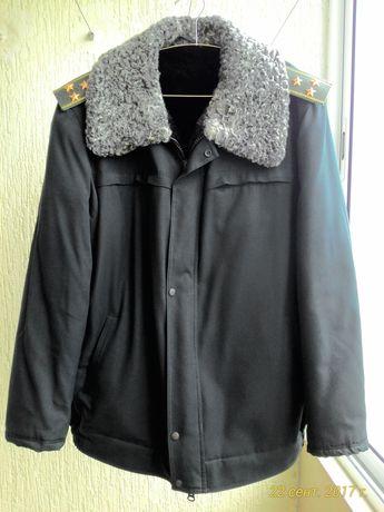 Куртка зимняя натуральный мех
