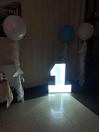 Единичка одиничка цифра цифры фотозона на день рождения декор на годик