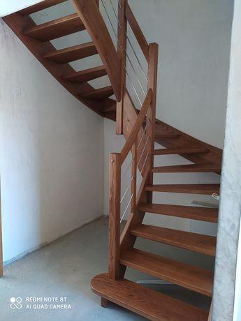 Schody drewniane, schody na beton, na konstrukcje metalową