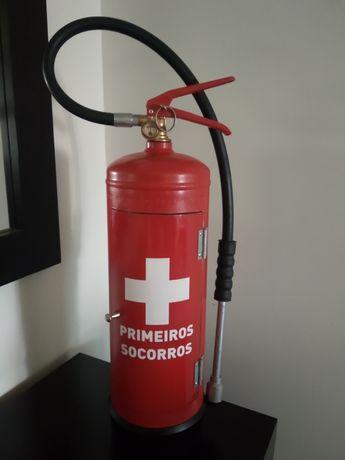 Extintor primeiros socorros