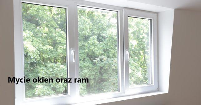 Sprzątanie oraz mycie okien