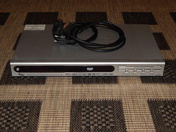 odtwarzacz DVD Manta + kabel SCART + pilot