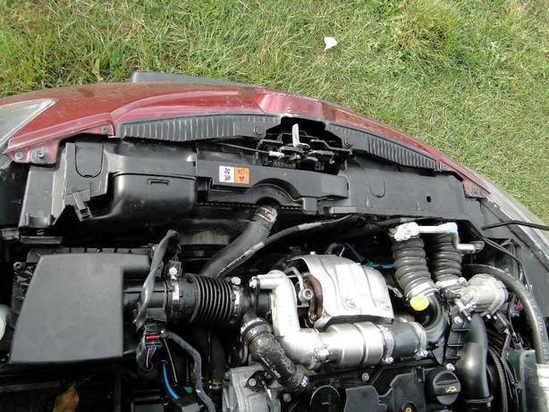 Pas przedni, chłodnice, wentylator obudowa kompl. Mazda 2 07-14 1.6die