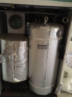 Котел газовый напольный компакт с бойлером и газовой поверхностью, 17