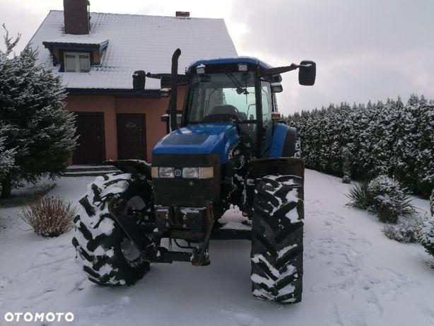 New Holland TM140  Traktor ciągnik rolniczy New Holland TM 140 2003r.