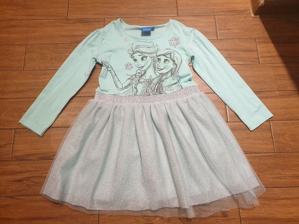 Sukienka Elsa i Anna r.122