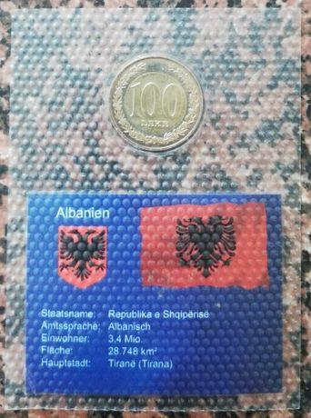 ALBANIA 100 Leke moneta 100 leków 2000 r.