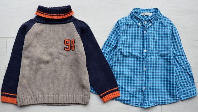 Zestaw ubrań dla chłopca 2-3 lata r. 98/104