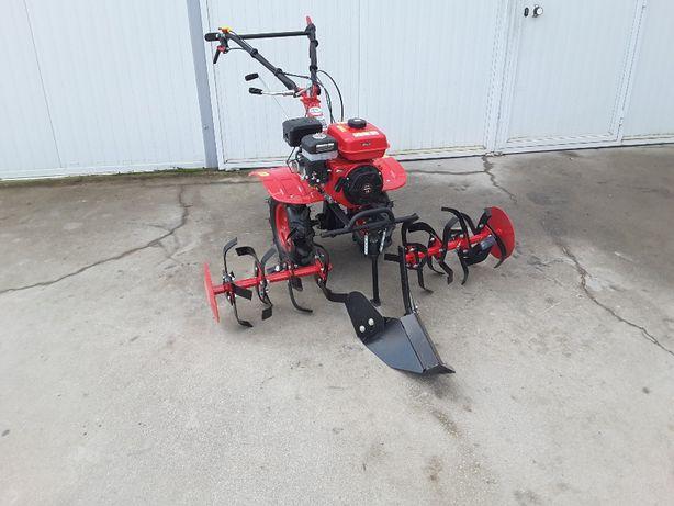 Moto-enxada Caixa 7,5 CV + Rodas 400- 8, Caixa e Embraiagem
