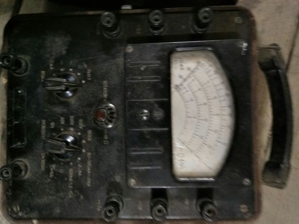 Измерительный прибор авометр типа АВО-5М