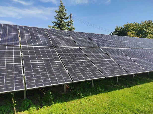 Panele fotowoltaiczne, instalacja fotowoltaiczna 5 KW z monażem