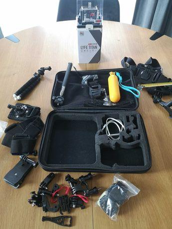 AEE LYFE Titan 4K 30fps kamera sportowa S90A WIELKI ZESTAW