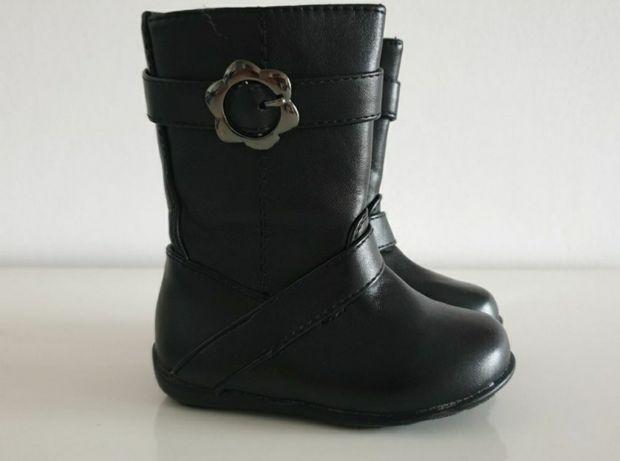 Kozaki kozaczki buty zimowe czarne