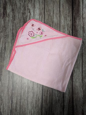 Полотенце махровое уголок для малышки