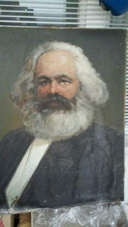 Портрет Карла Маркса