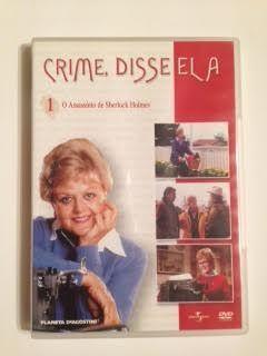 """DVD """" Crime , Disse Ela - O Assasínio de Sherlock Holmes"""""""
