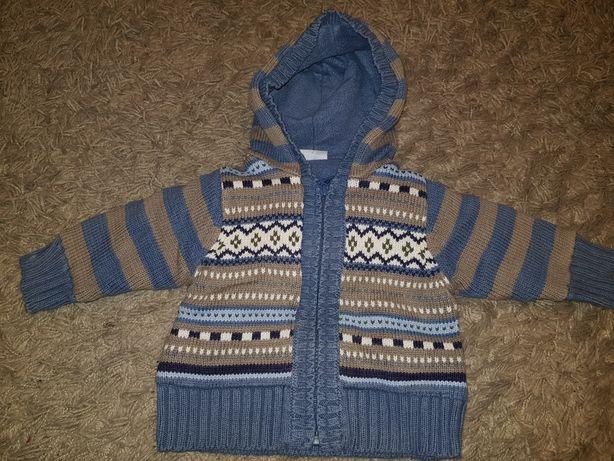 Sweter z polarową podszewką cherokee 62 dla chłopca polar