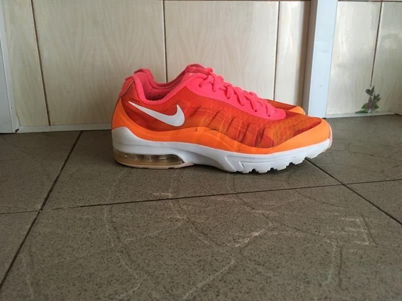 Оранжеві рожеві кросівки nike air Ровно - изображение 1