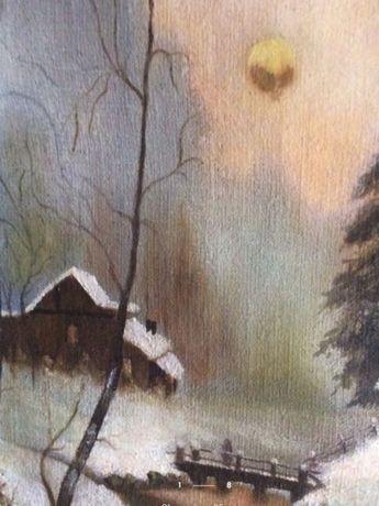 Картина Масло Холст 50 г.