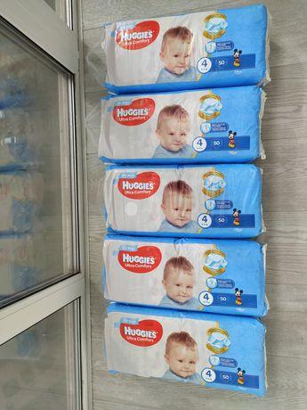 Подгузники памперсы Huggies Ultra Comfort для мальчиков 4 50шт