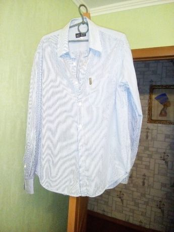 Рубашка в полоску Armani Jeans Италия