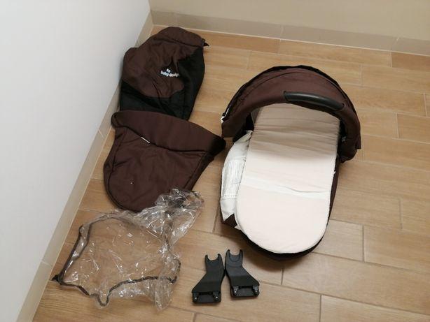 Gondola Baby Designe + przejściówki do fotelika