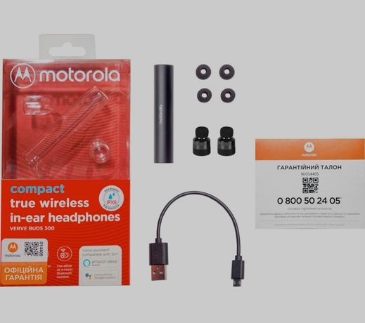Motorola verve buds 300, идеальное состояние