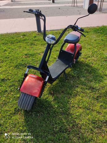 citycoco scooter eletrica 11 meses de garantia
