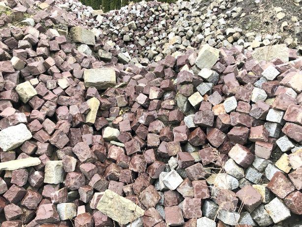 Kostka granitowa 10x10 starobruk
