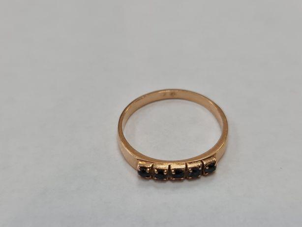 Warmet! Delikatny! Piękny złoty pierścionek/ 585/ 2.07 gram/ R15
