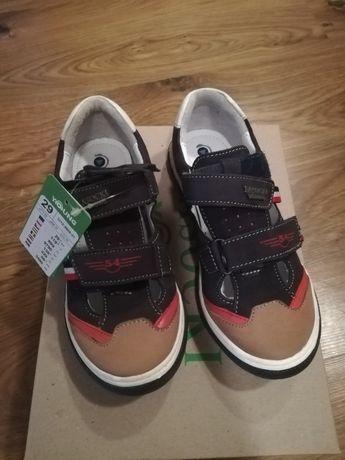Nowe buty lasocki ccc 29 skórzane adidasy trzewik