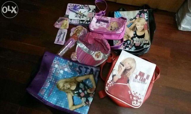 pack de acessorios Hannah Montana