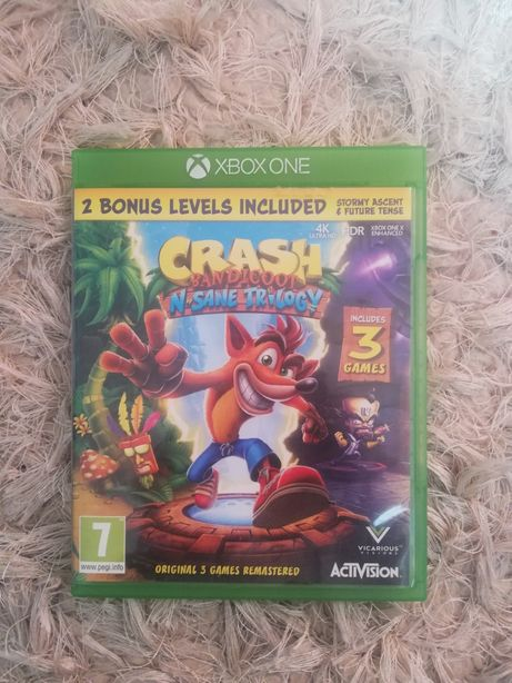 Gra na xbox one Crash Bandicoot