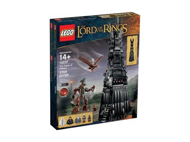 LEGO Władca Pierścieni Wieża Orthanc nr 10237