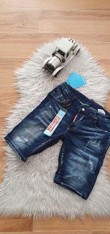 Spodenki krótkie męskie jeans