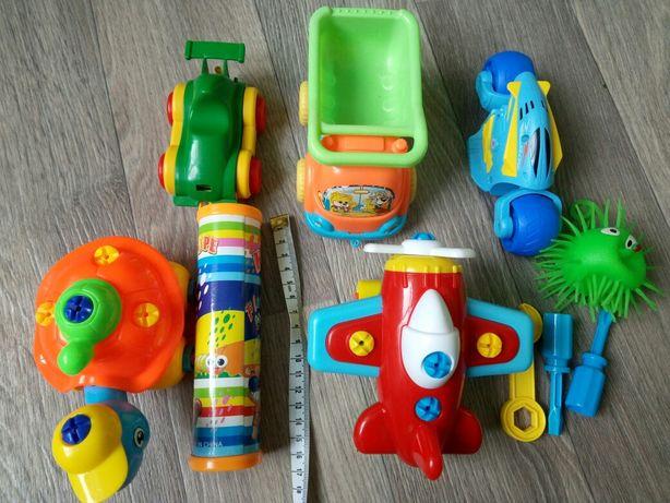 "Игрушки ""Собери сам"", самолет, черепаха, мотобайк"