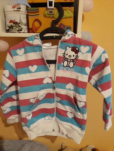 Bluza 116cm Hello Kitty