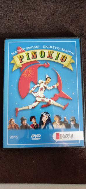 Film DVD. Pinokio. Nowe. Polski dubbing