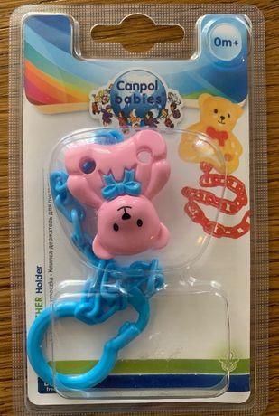 Canpol babies держатель для пустышки, новый